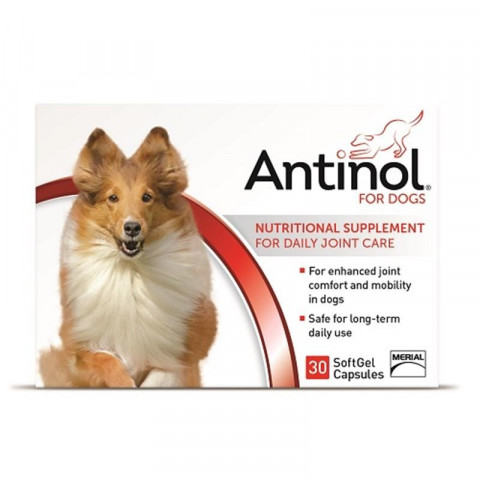 Antinol for Dogs, SoftGel Capsules